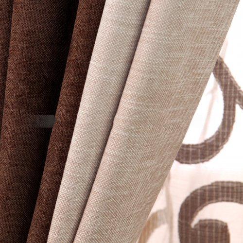 Rèm vải Chống nắng - Đơn sắt một màu -