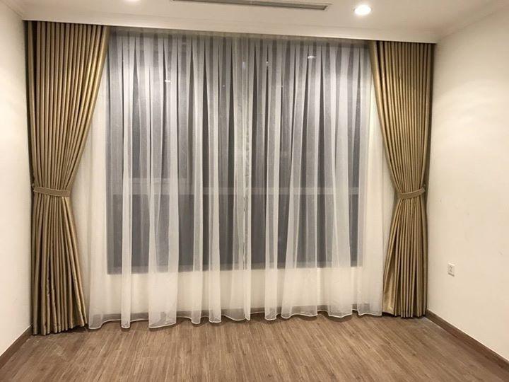 Rèm vải cao cấp 2 lớp - chắn sáng chống nóng -